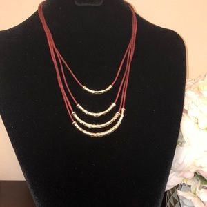 Loft Four Tiered Necklace